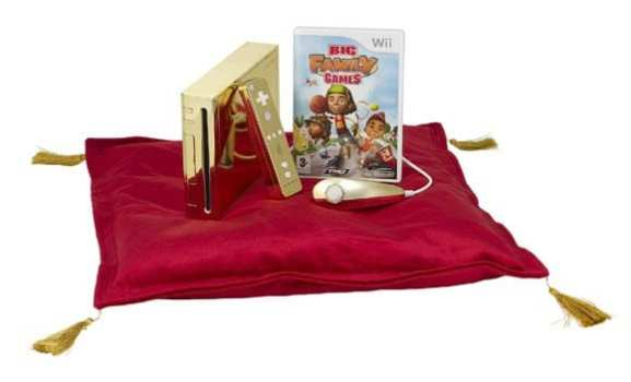 Gold-Plated Nintendo Wii