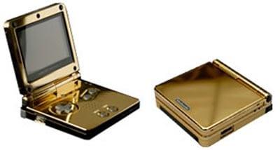 Gold Game Boy Advance SP