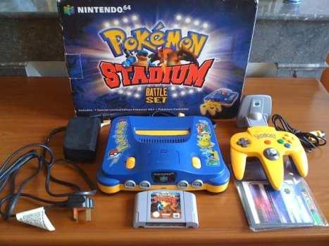 Pokemon Stadium Nintendo 64 Battle Set