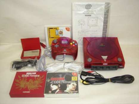 Resident Evil CODE: Veronica Sega Dreamcast Claire Edition