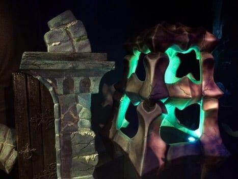 and his equally giant lantern