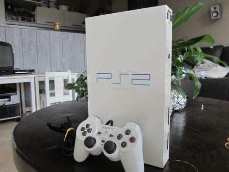 Ceramic White PlayStation 2
