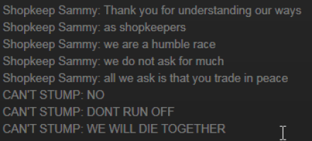 The Culling Shopkeepers