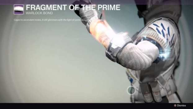 Fragment of the Prime - Warlock Bond