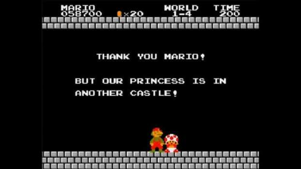 But Our Princess Is In Another Castle - Mario