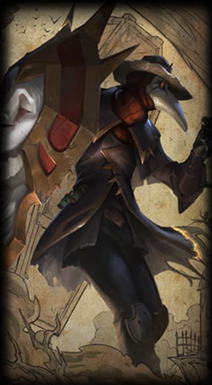 League Of Legends Black Scourge Singed