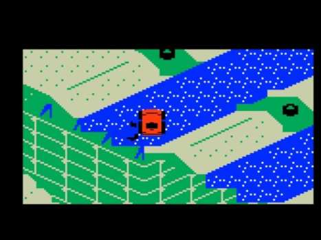 Mattel Intellivison (1979) - Stadium Mud Buggies (1989)