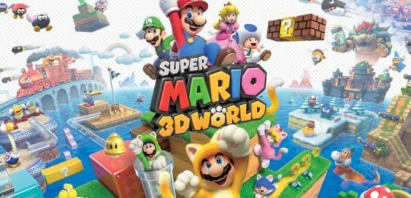 Wii U, Mario, 3D World, games, first party, nintendo