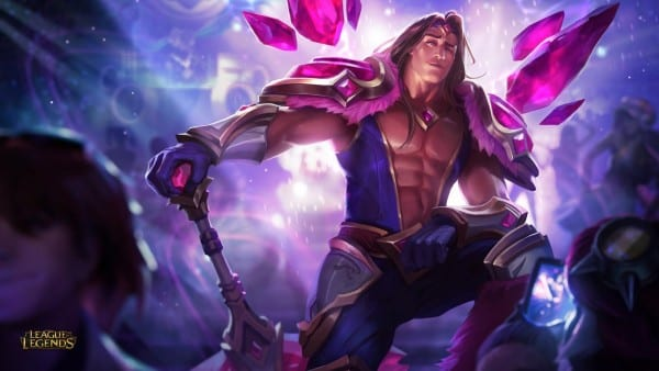 League of Legends Armor of the Fifth Age Taric
