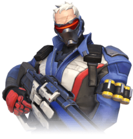 Soldier 76 - Overwatch offence character.