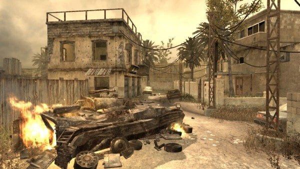 Backlot Call of Duty Modern Warfare Maps