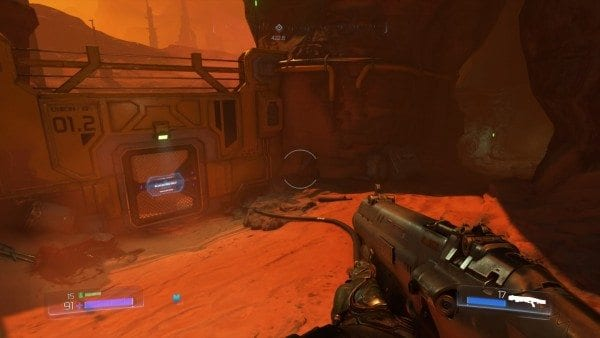DOOM, blue access key