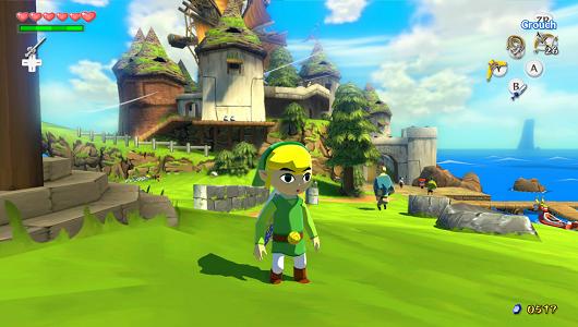 The Legend of Zelda Wind Waker Link