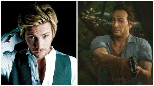 Uncharted 4, troy baker, sam