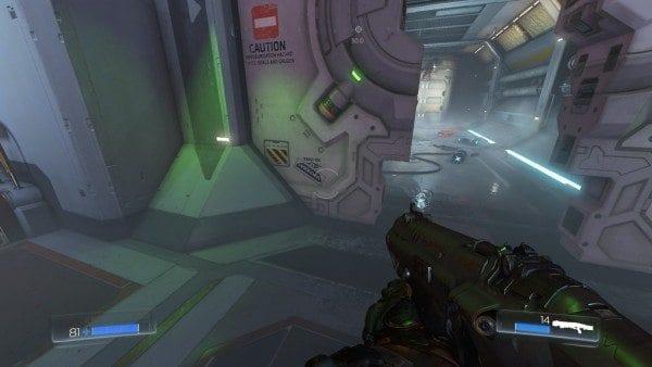 Doom Fallout Easter Egg vault tec