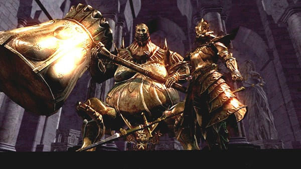 Fighting Ornstein and Smough (DS1)
