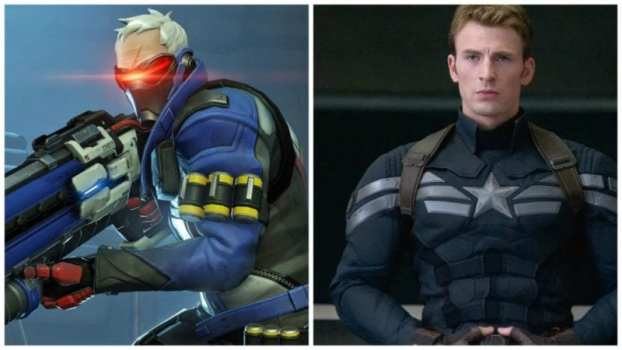 Soldier 76--Captain America: Winter Soldier