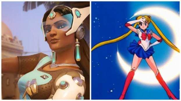 Symmetra--Sailor Moon