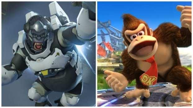 Winston--Donkey Kong