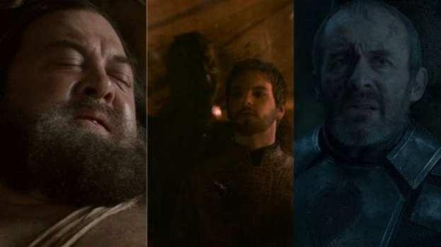 Robert Baratheon, Renly Baratheon, Stannis Baratheon
