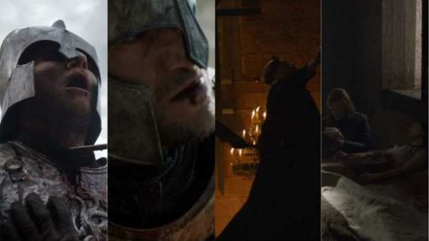 Gerold Hightower, Arthur Dayne, The Mad King Aerys Targaryen, Lyanna Stark