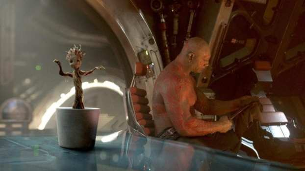 3) Guardians of the Galaxy - Dancing Groot