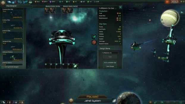 Fallen Empire Ship Types