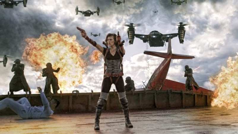 Resident Evil movie, games