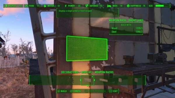 fallout 4, contraptions, display