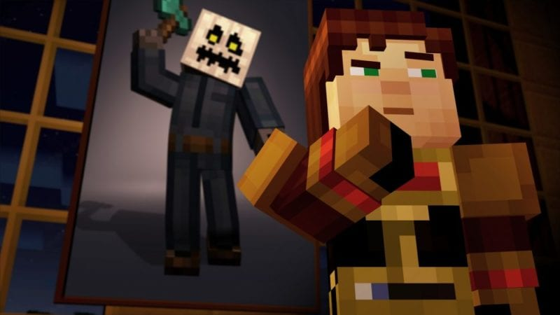 Minecraft Story Mode Episode 6 Invites You To A Spooky Dinner