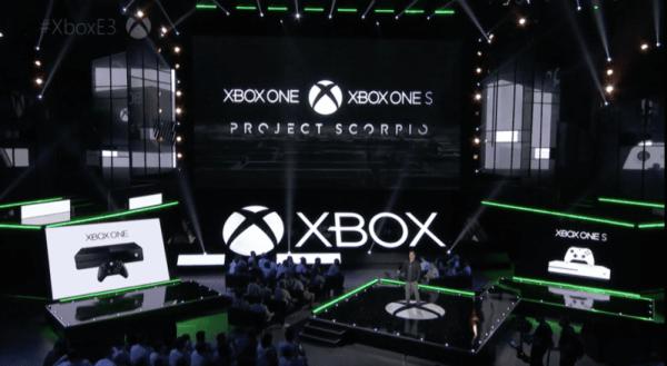 Project Scorpio, Xbox One, Xbox One S