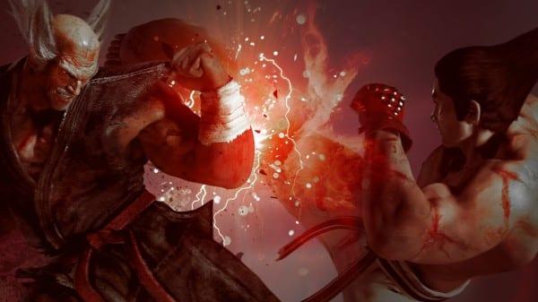 Tekken 7 kazuya vs heiachi