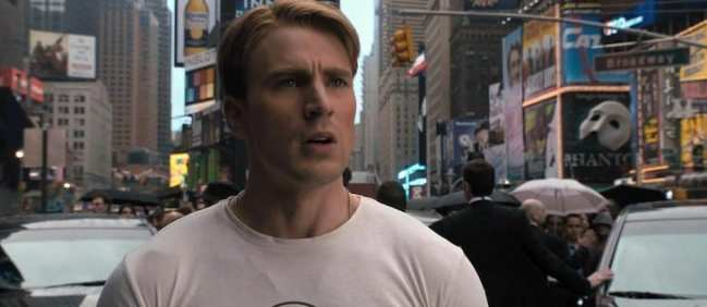 6) Captain America: The First Avenger - Rogers in the Future