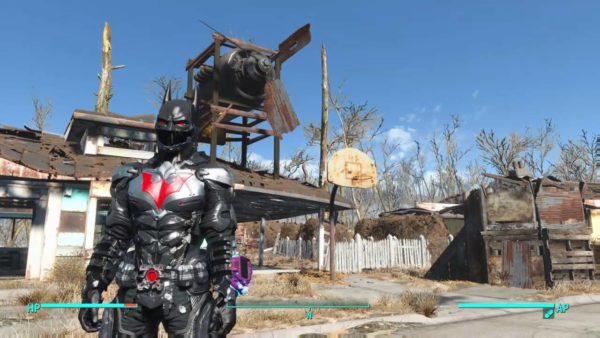 fallout 4, mods, batman beyond