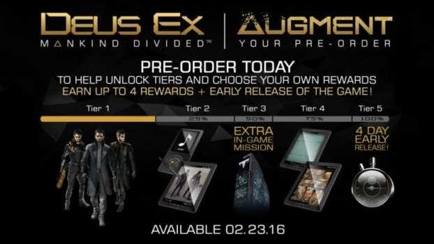 Deus Ex: Mankind Divided - Tier System