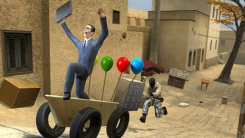 Garry's Mod: How to Enable Third Person