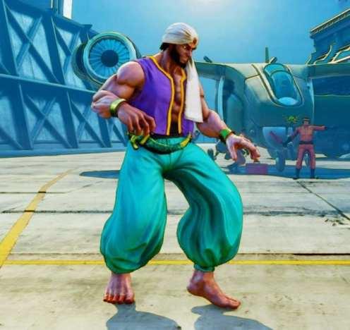 Street Fighter V, Battle Rashid