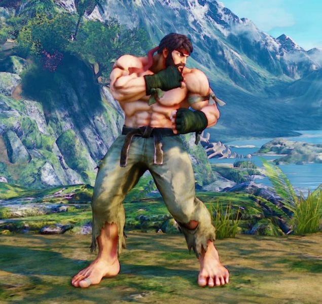 "Street Fighter V, Battle ""Hot"" Ryu"