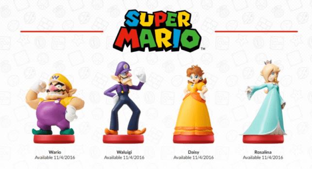 Second Wave of Super Mario Amiibo