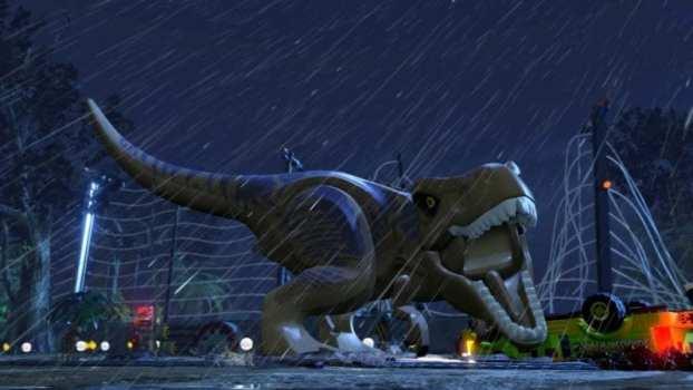 4) LEGO Jurassic World