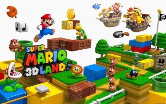Super Mario 3D Land, Super Mario World - 3DS