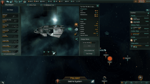Ship Design Compacter