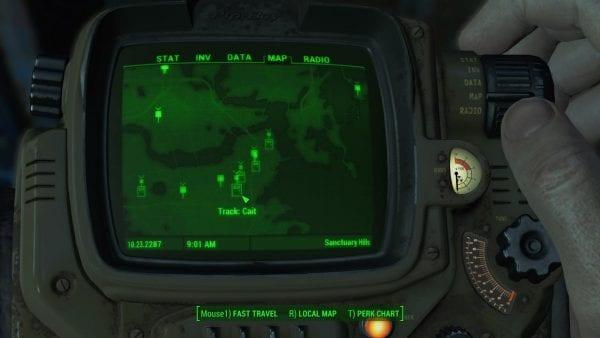 Fallout 4, mods, track companions