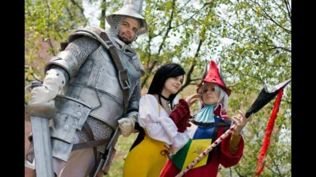 Steiner, Garnet and Freya - Final Fantasy IX