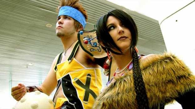 Wakka and Lulu - Final Fantasy X