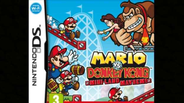 9. Mario vs Donkey Kong: Mini-Land Mayhem