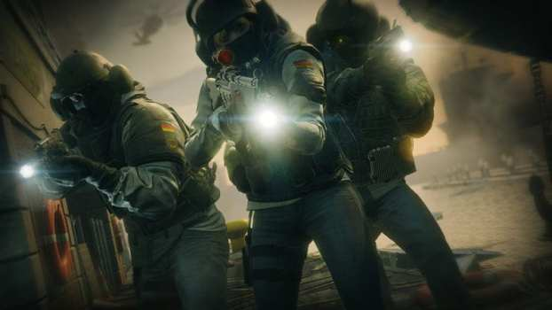 8. Tom Clancy's Rainbow Six Siege - 176,208