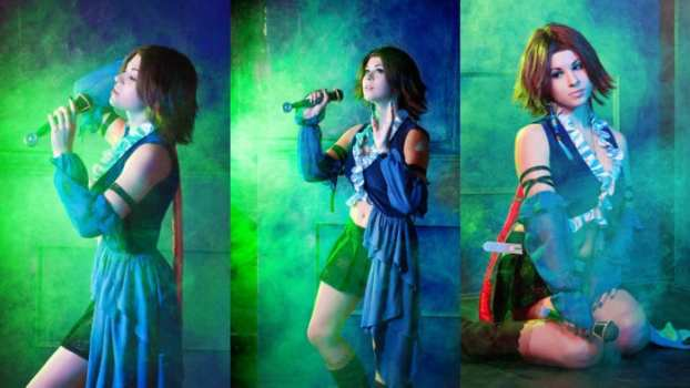 Songstress Yuna - Final Fantasy X-2