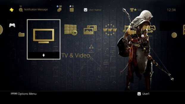 Assassin's Creed Origins Dynamic Theme