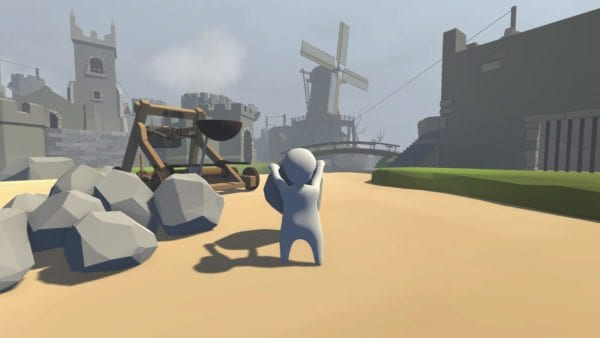 Human: Fall Flat Catapult Wall